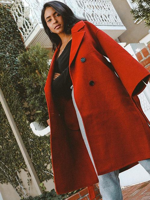 Bergen Full Length Wool Coat
