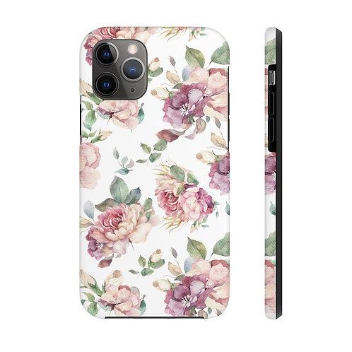 Blush and Violet Rose Garden Case Mate Tough Phone Cases