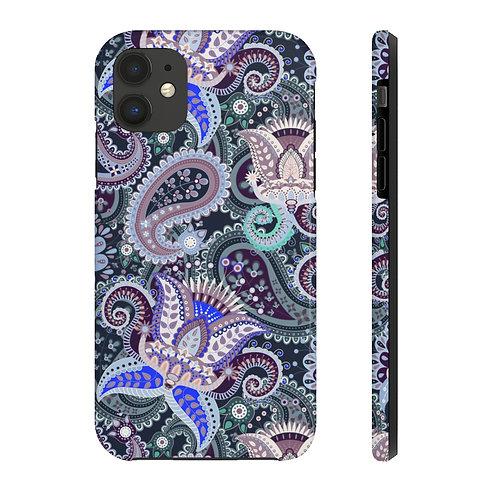 Paisley Purples Case Mate Tough Phone Cases