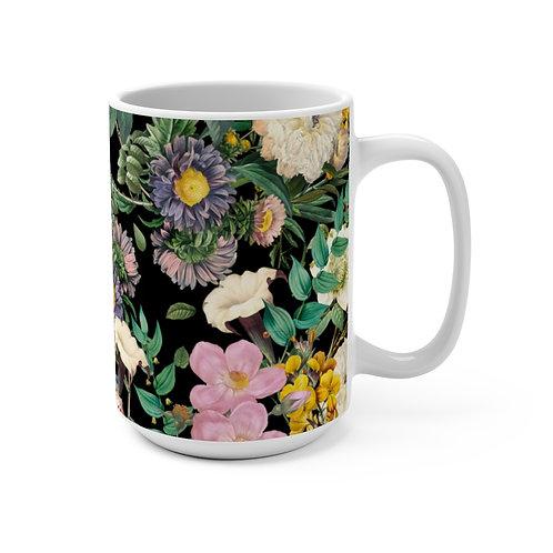 Dark Rose Garden Mug 15oz