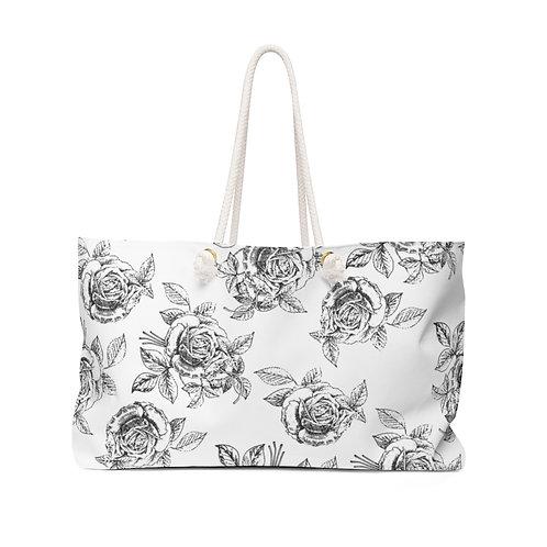 Rose Drawing Weekender Bag