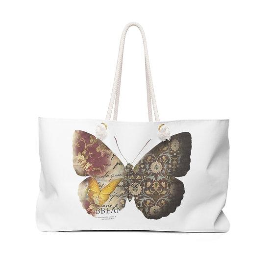 Designer Butterfly Weekender Bag