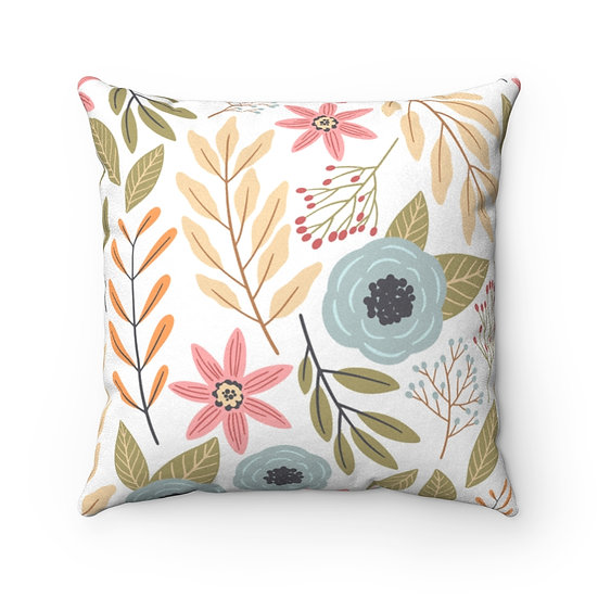 Bethany Faux Suede Square Pillow