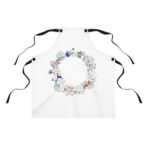 Pastel Wreath Apron