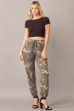 1257 Women's high waist jogger pants