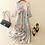 Thumbnail: Pure Silk Printed Tassel Midi Dress