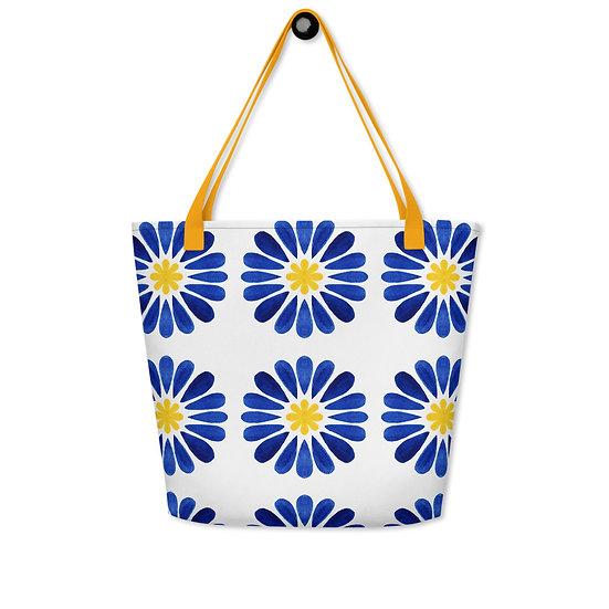 Italian Tile #220 Beach Bag