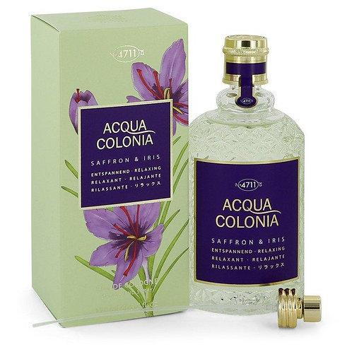 4711 Acqua Colonia Saffron & Iris Eau De Cologne Spray By 4711