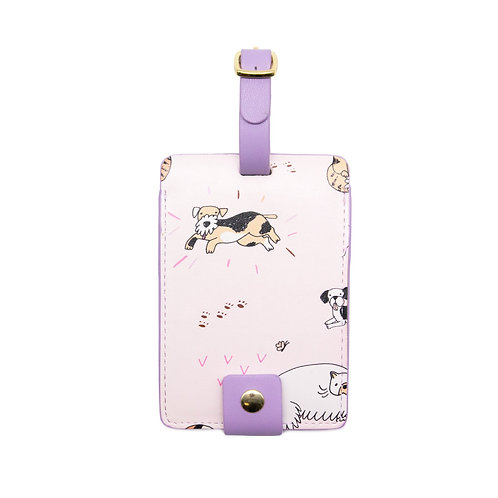 Luggage Tag - Cats & Dogs