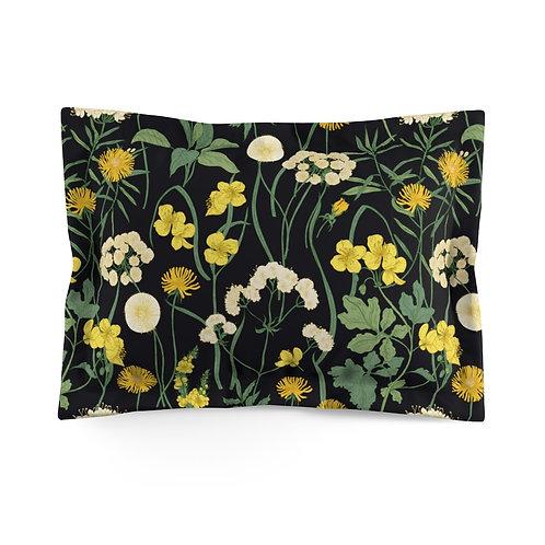 Dandelion Microfiber Pillow Sham