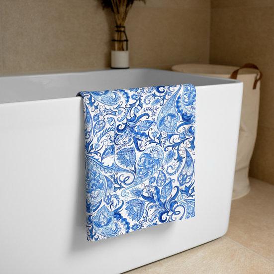 Blue She Earth Towel