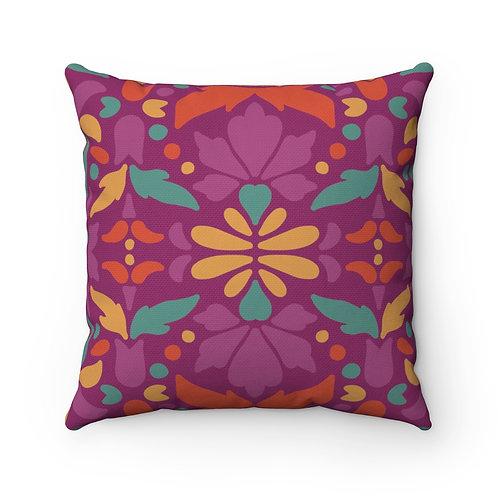 Indian Decor 1 Spun Polyester Square Pillow