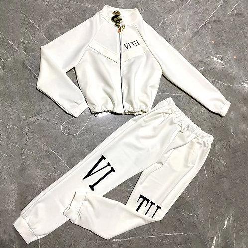 Casual Two Piece VITII  Designer Running suit