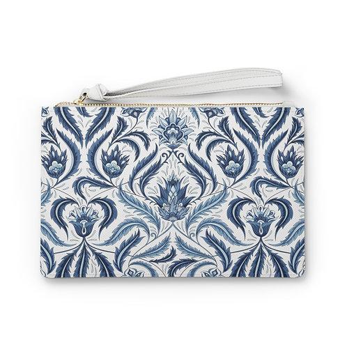 Art Deco Floral Clutch Bag