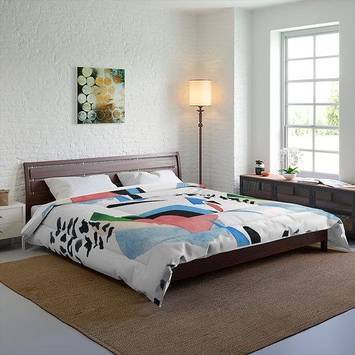 Abstract Shapes II Comforter