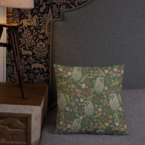Owls Pattern Premium Pillow