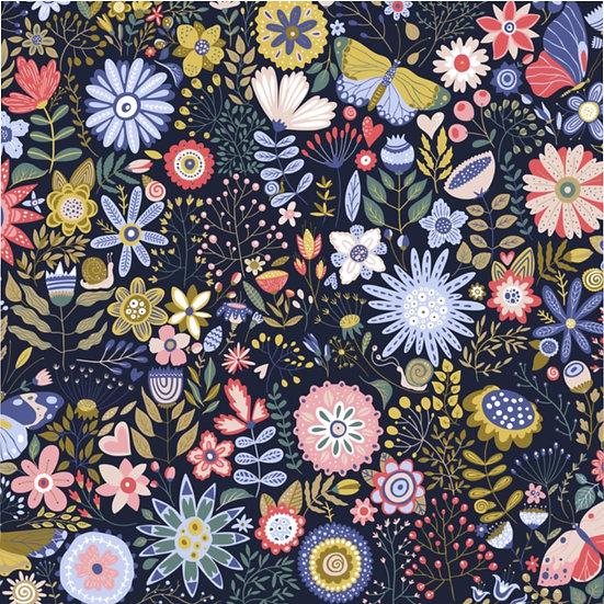 Cartoon Garden #1 Microfiber Duvet Cover