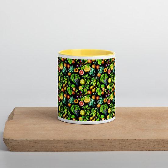 Fruit Mug with Color Inside