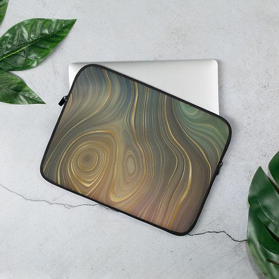 Crystal Lines Laptop Sleeve