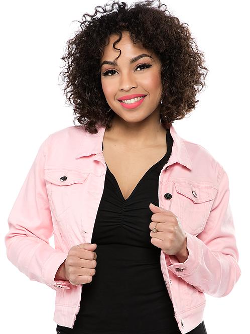 Sourpuss Essential Jacket Pink