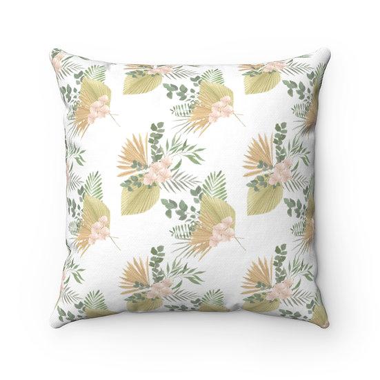 African Sahara Blooms Spun Polyester Square Pillow