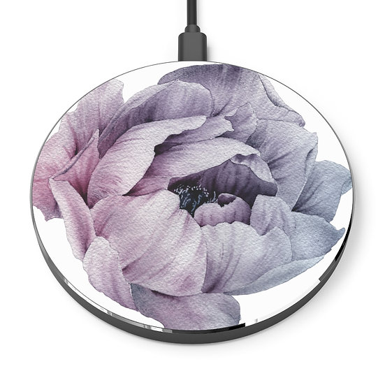 Lavender Peony Wireless Charger