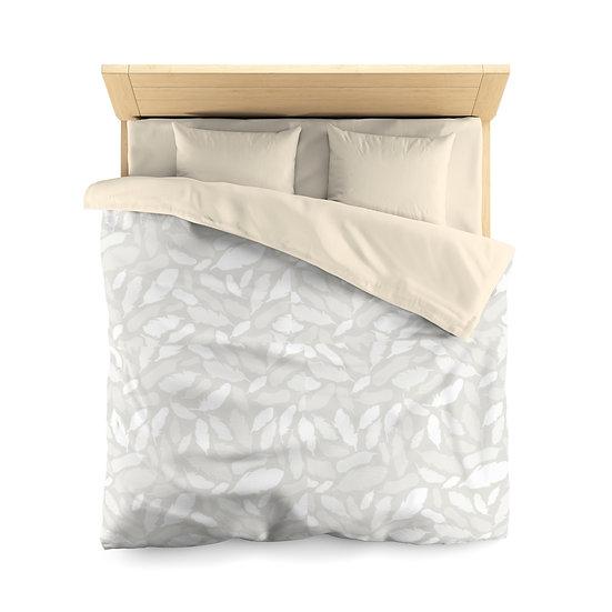 Light Tile Microfiber Duvet Cover