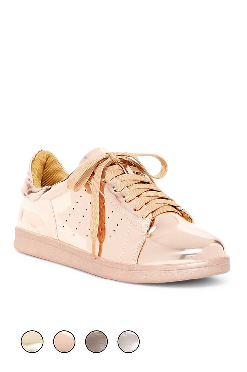154630 Gold Sneakers