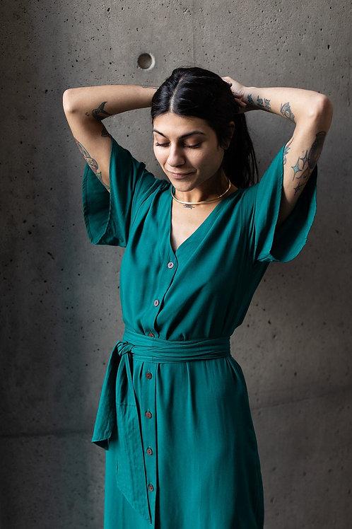 Keandra Dress | Emerald