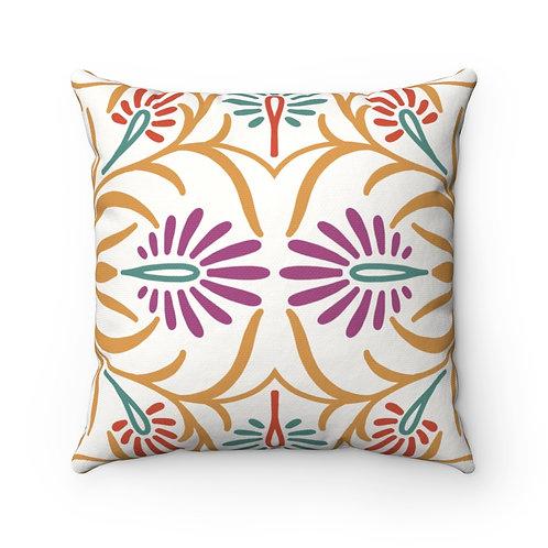 Indian Decor #5 Spun Polyester Square Pillow