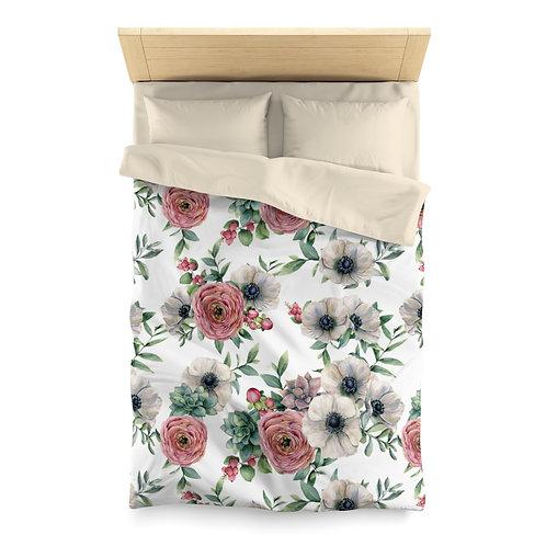 Bouquet 23 Microfiber Duvet Cover