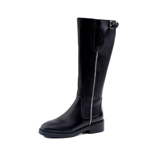Leather Women High Boots
