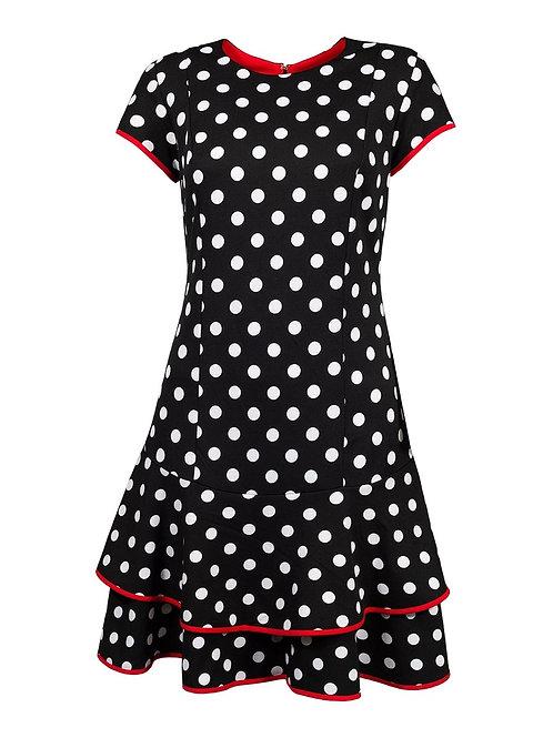 Shelby & Palmer Polka Dot Day Dress