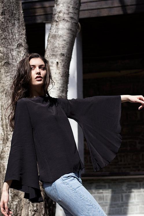 Long Sleeve Shirt - Bastet Noir