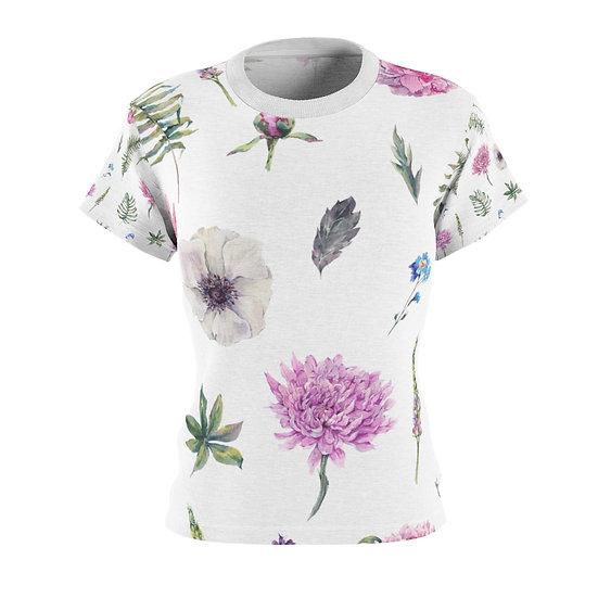 Floral Raindrops Women's Tee