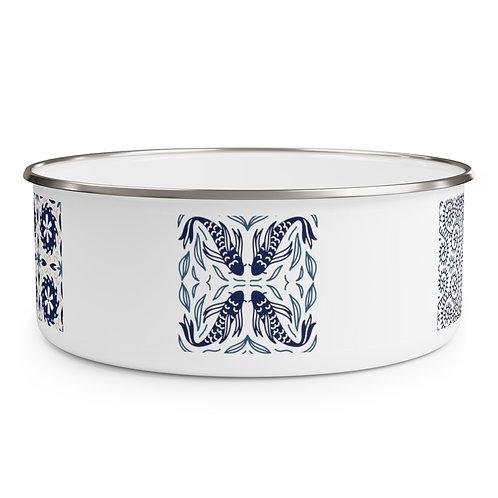 Japanese Design #5 Enamel Bowl