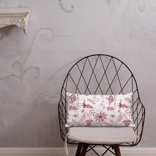 Cascade Pink Premium Pillow
