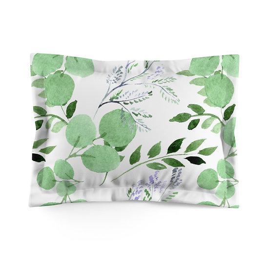 Leaves Lite Microfiber Pillow Sham