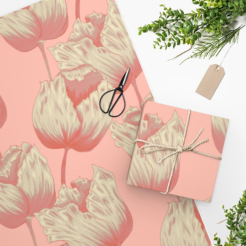ivory-tulip-on-peach-wrapping-paper.jpg