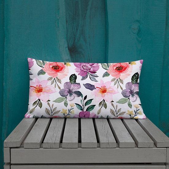 Lavender Garden Premium Pillows