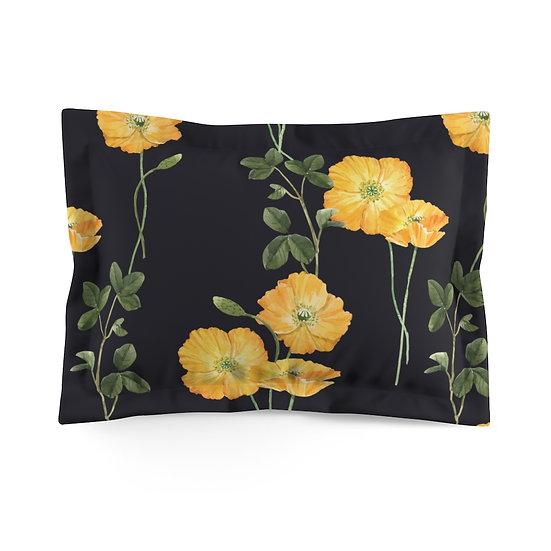 Buttercup Microfiber Pillow Sham