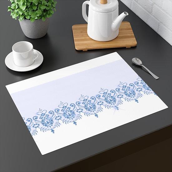 Blue trim Placemat