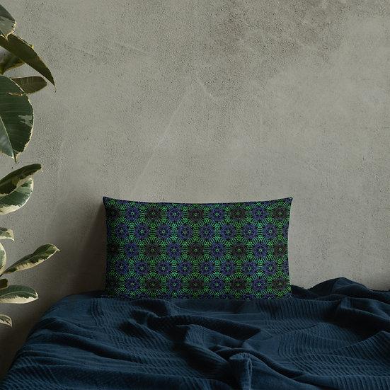 Emerald Garden Premium Pillow
