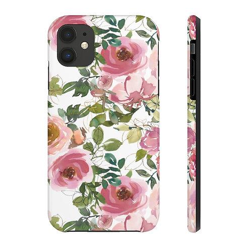Pastel garden Case Mate Tough Phone Cases