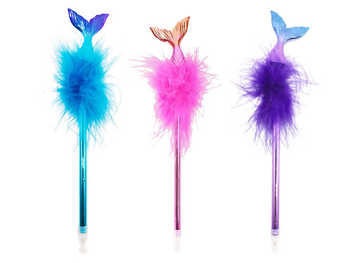 Boa Feather Pens - 3 Pack