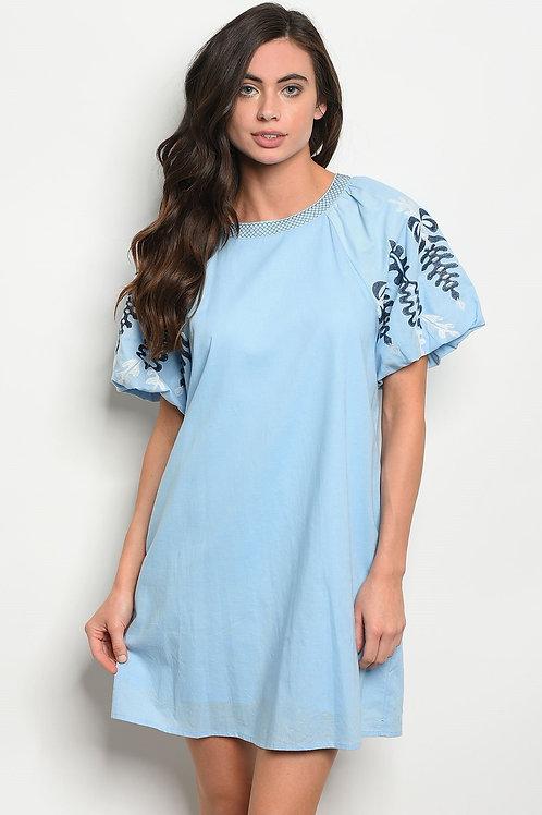 Womens Blue Navy Dress