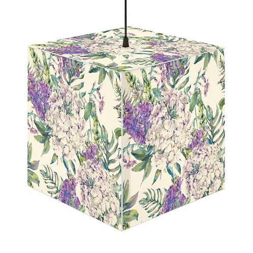 Lilac Personalized Lamp