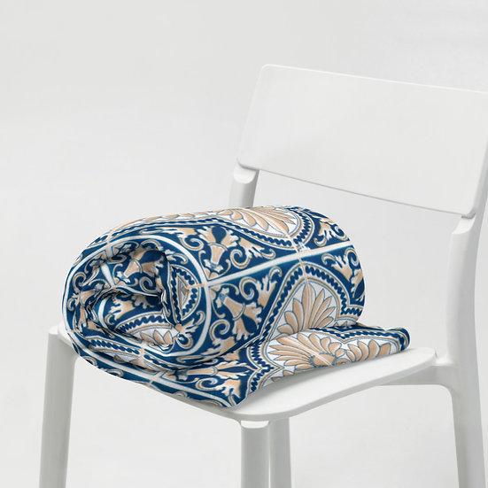 Italian Tile Throw Blanket