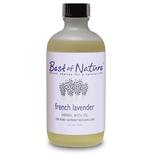 French Lavender Herbal Bath Oil