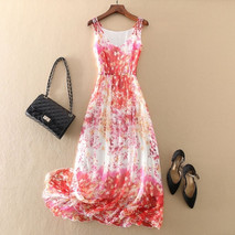 Tcyeek-Real-Silk-Boho-Dresses-2020-Summe